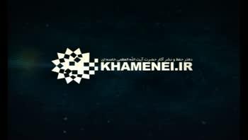 ورود رهبر انقلاب به مصلی امام خمینی(ره)