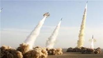 شبیه سازی حمله موشکی ایران به اسرائیل
