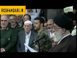 دیدار رهبر انقلاب با خانواده شهدا-کردستان2