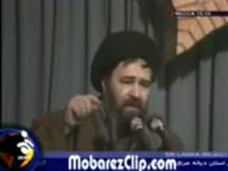 حاج احمد آقای خمینی -امام خامنه ای(مدظله)