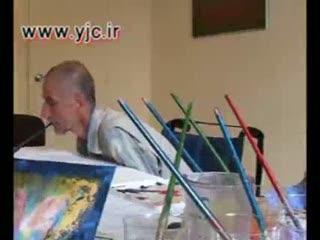 نمايشگاه نقاشي جانباز ايراني در پاريس