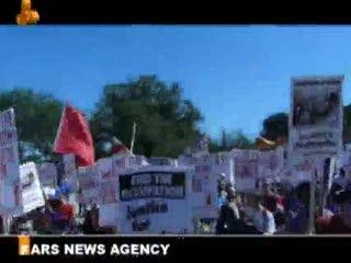 تظاهرات صدها هزار آمريكايي در واشنگتن