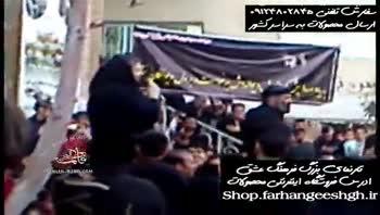 آخرین مداحی مرحوم محسن فیضی بر سر مزار مرحوم سیدجواد ذاکر-1393