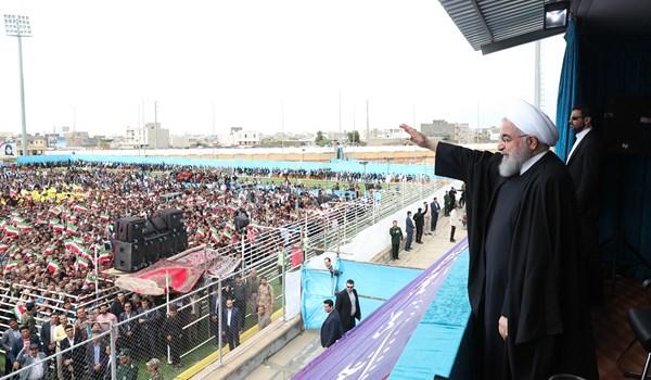 روحانی: حقوق کارگران بیش از 20 درصد افزایش خواهد یافت
