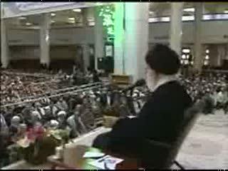 دیدار رهبر انقلاب اسلامی با بسیجیان استان قم-قسمت پنجم