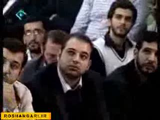 دیدار رهبر انقلاب اسلامی با دانش آموزان-7