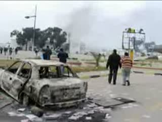 ادامه اعتراضات و درگیریها در لیبی