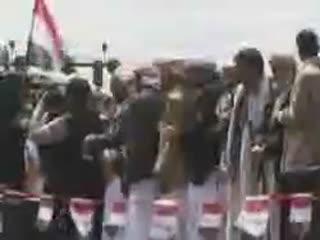ادامه تظاهرات در یمن