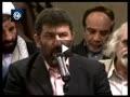 شعر خوانی سعید حدادیان در دیدار شعرای آئینی با رهبر انقلاب