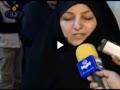 همسران شهدای هسته ای ایران در پای صندوق