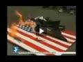 آتش زدن ماکت پهپاد آمریکایی در فیلیپین