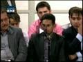 شعر خوانی مرتضی حیدری آل كثیر در دیدار شعرای آئینی با رهبر انقلاب