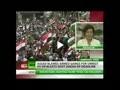 تظاهرات بزرگ طرفداران بشار اسد در دمشق