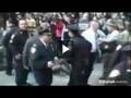 درگيري معرتضان وال استريت با پليس نيويورك