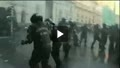 درگيري پليس بامعترضان در شيلي