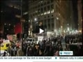 خشونت پلیس نیویورک و دستگیری 6 فعال جنبش والاستریت