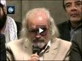 شعر خوانی محمد علی مجاهدی در دیدار شعرای آئینی با رهبر انقلاب