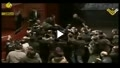 ابراز علاقه حاضران در مراسم سخنرانی بشار اسد